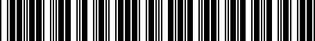 Barcode for PT27842192
